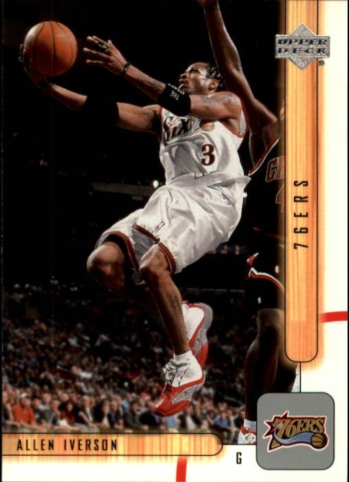 2001-02 Upper Deck #123 Allen Iverson