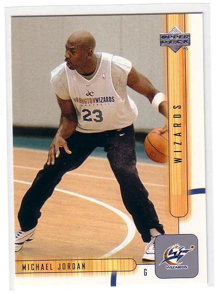 2001-02 Upper Deck #178 Michael Jordan