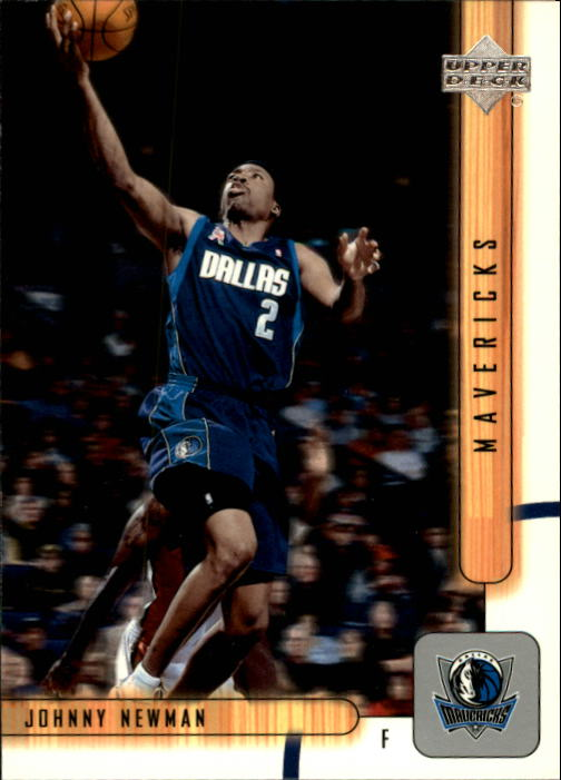 2001-02 Upper Deck #258 Johnny Newman