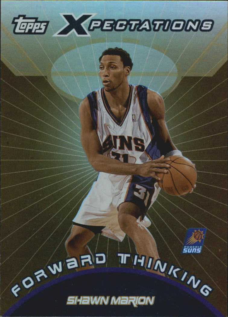 2001-02 Topps Xpectations Forward Thinking #FT8 Shawn Marion