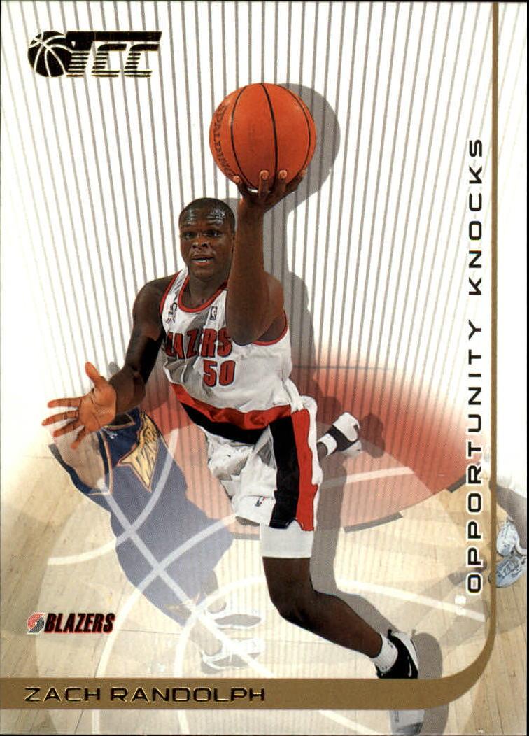 2001-02 Topps TCC #139 Zach Randolph RC