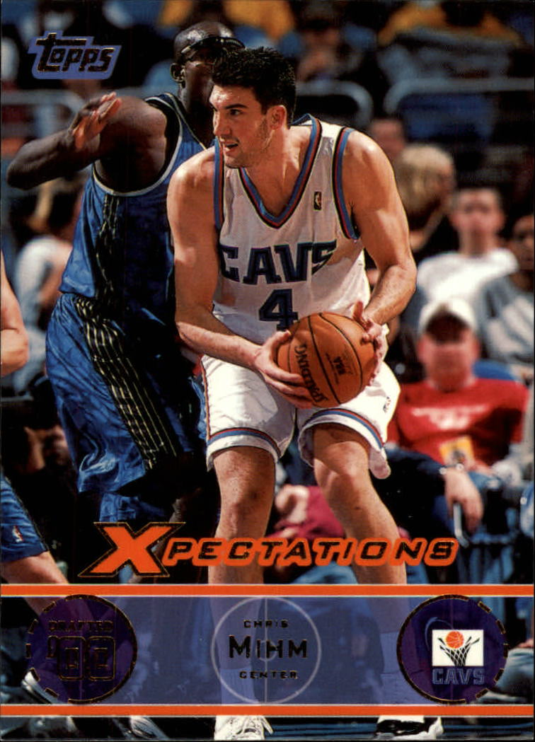 2001-02 Topps Xpectations #29 Chris Mihm