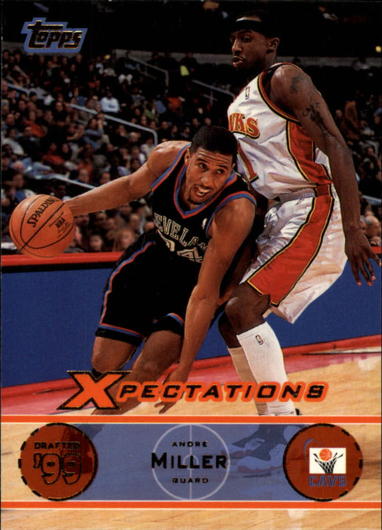 2001-02 Topps Xpectations #67 Andre Miller