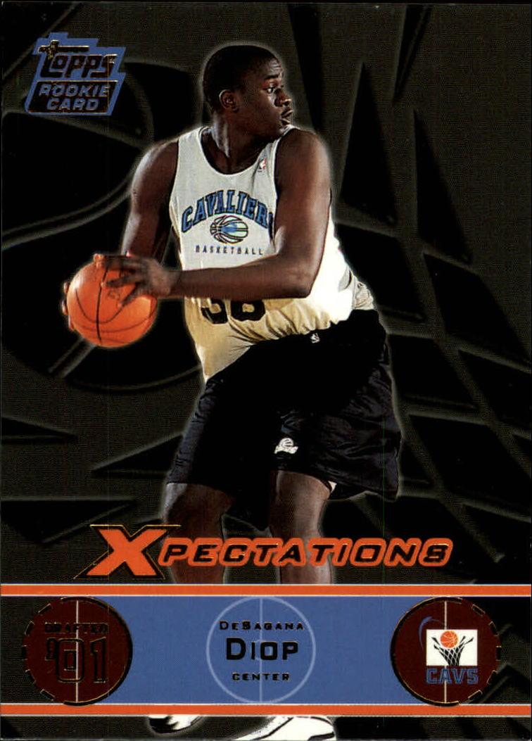 2001-02 Topps Xpectations #108 DeSagana Diop RC