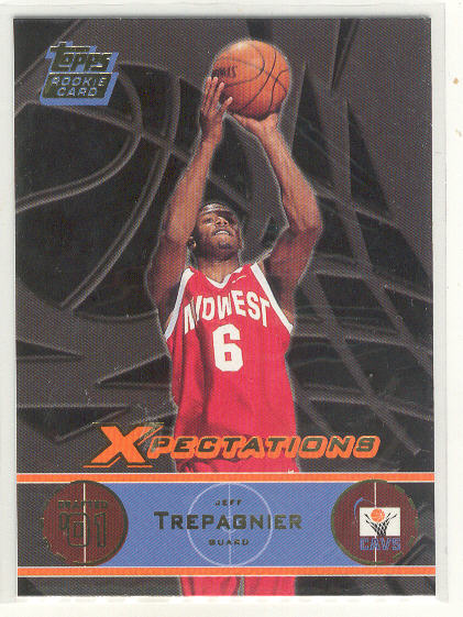 2001-02 Topps Xpectations #134 Jeff Trepagnier RC
