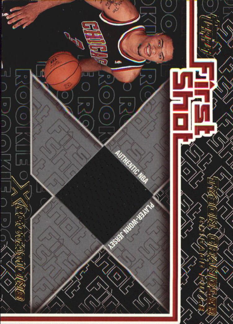 2001-02 Topps Xpectations First Shot #FS2 Tyson Chandler