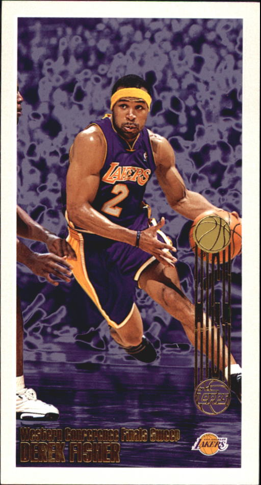 2001-02 Topps High Topps #104 Derek Fisher RTC