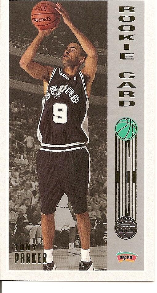 2001-02 Topps High Topps #160 Tony Parker RC