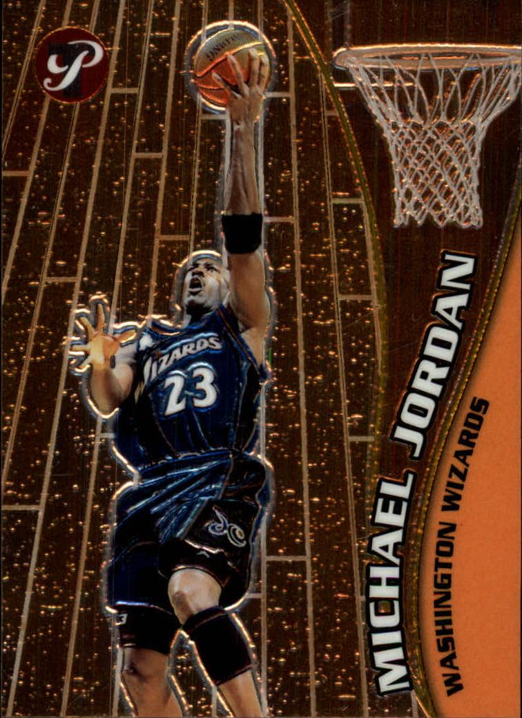 2001-02 Topps Pristine #6 Michael Jordan