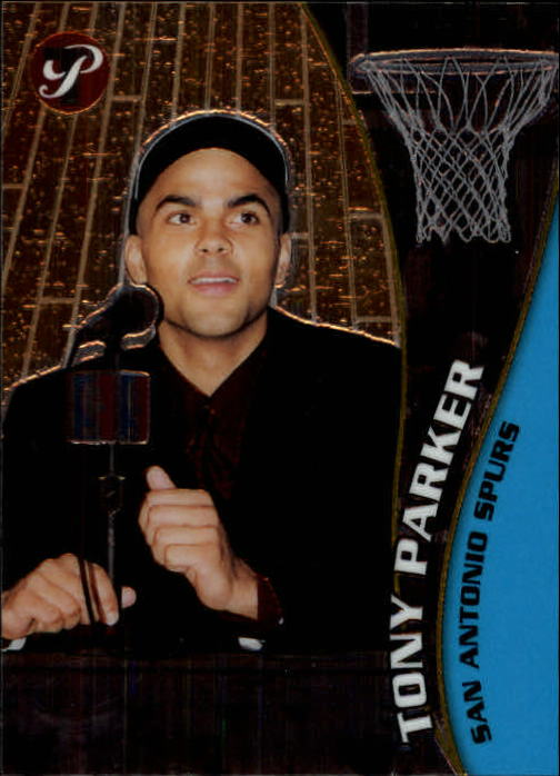 2001-02 Topps Pristine #108 Tony Parker C RC