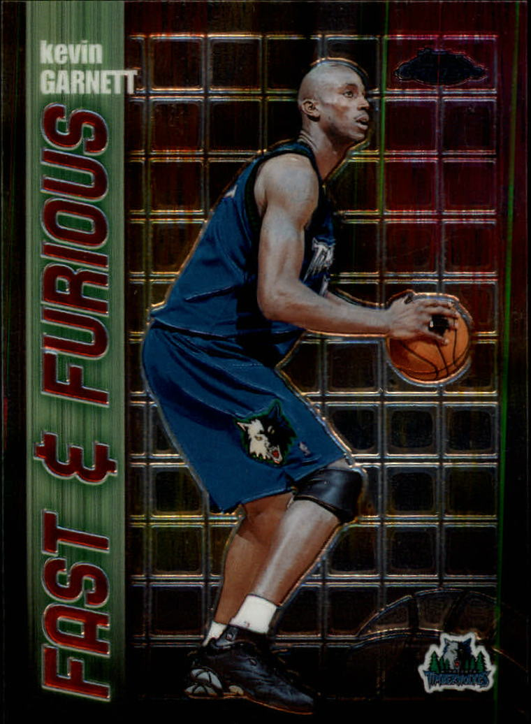 2001-02 Topps Chrome Fast and Furious #FF7 Kevin Garnett