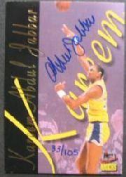 2001-02 Topps Kareem Abdul-Jabbar Reprints Autographs #4 Kareem Abdul-Jabbar