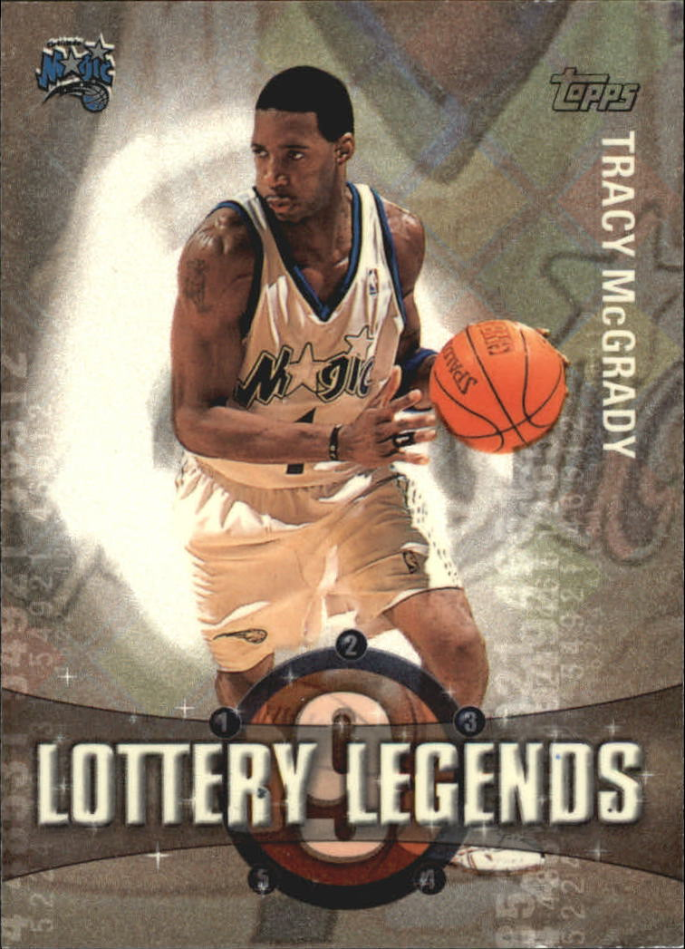 2001-02 Topps Lottery Legends #LL9 Tracy McGrady