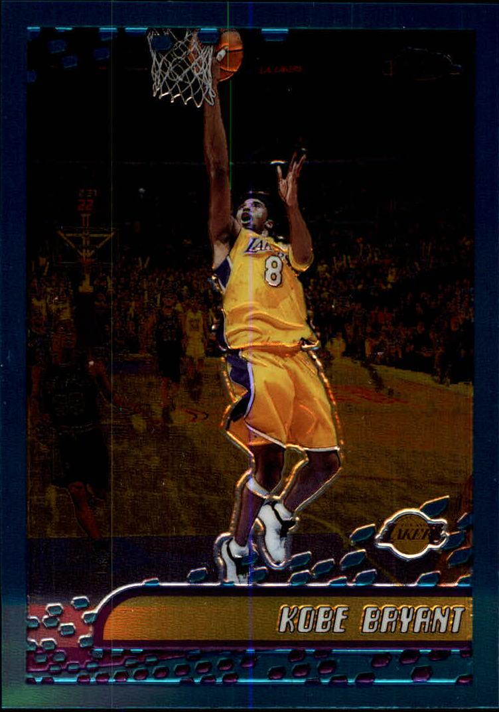 2001-02 Topps Chrome #50 Kobe Bryant