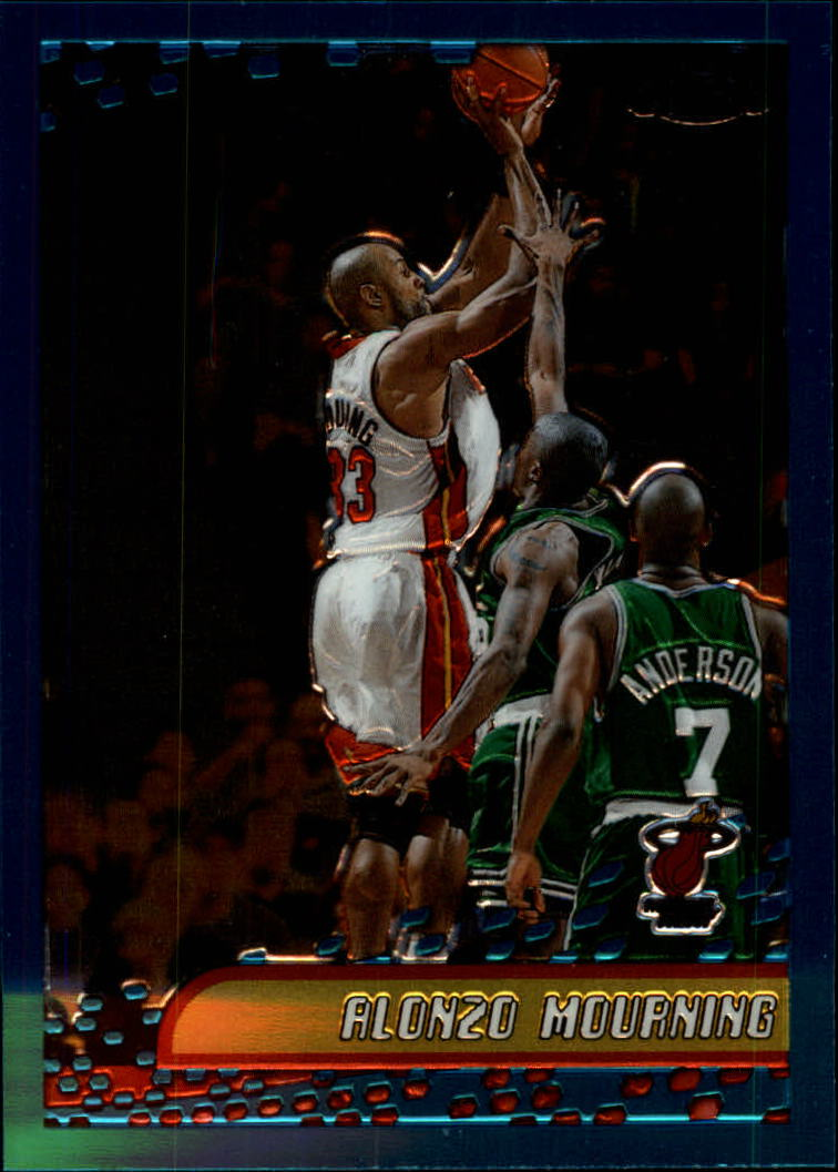 2001-02 Topps Chrome #92 Alonzo Mourning