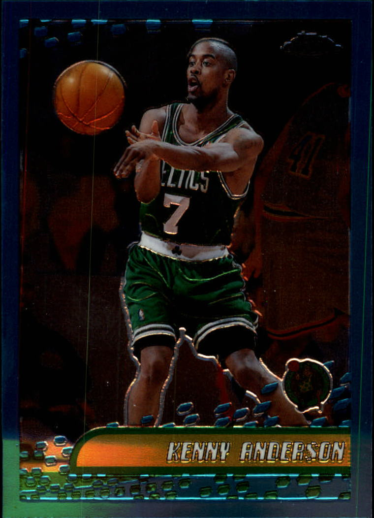 2001-02 Topps Chrome #110 Kenny Anderson