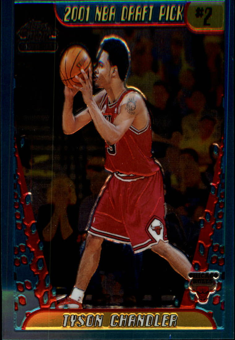 2001-02 Topps Chrome #130 Tyson Chandler RC