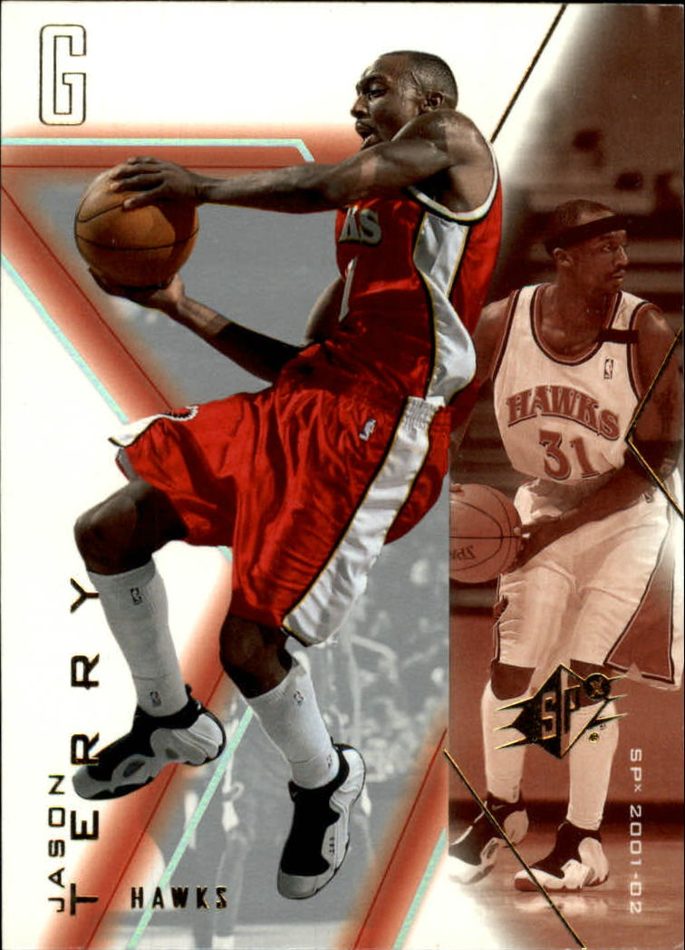 2001-02 SPx #1 Jason Terry