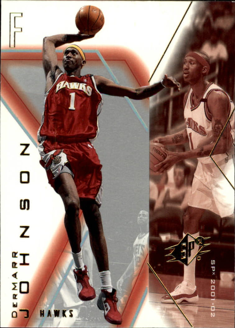 2001-02 SPx #3 DerMarr Johnson