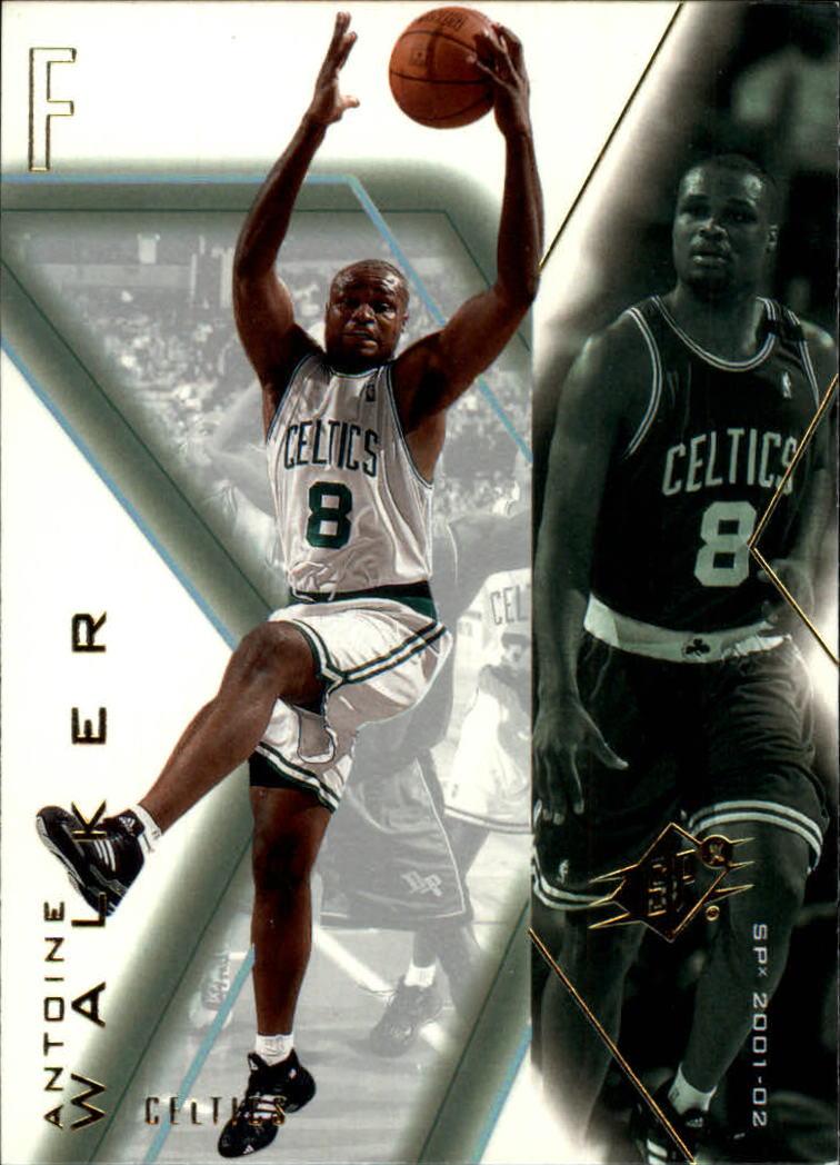2001-02 SPx #5 Antoine Walker