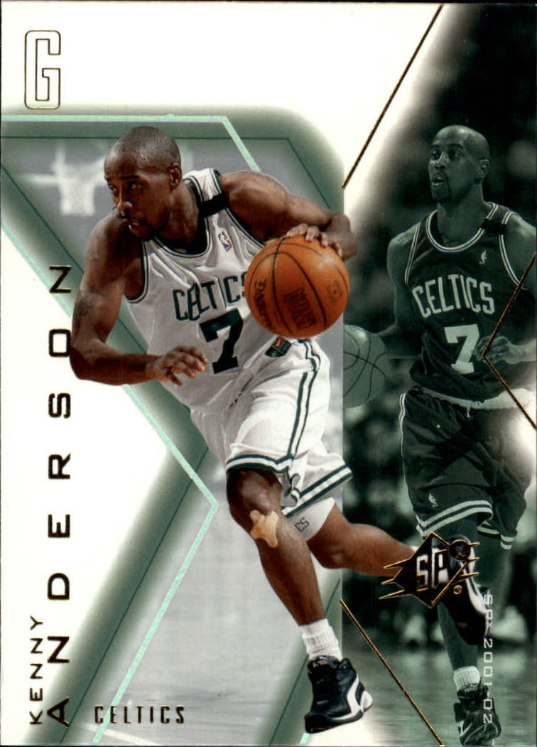 2001-02 SPx #6 Kenny Anderson