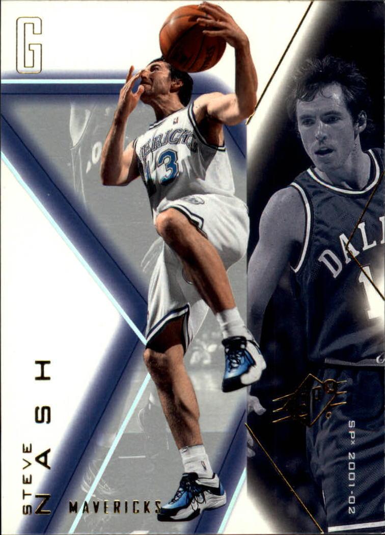 2001-02 SPx #18 Steve Nash