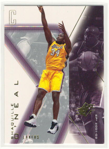 2001-02 SPx #39 Shaquille O'Neal