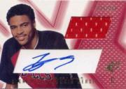2001-02 SPx #110B Tyson Chandler JSY AU RC