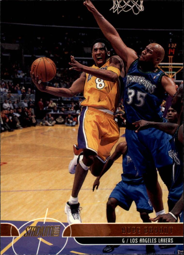 2001-02 Stadium Club #10 Kobe Bryant