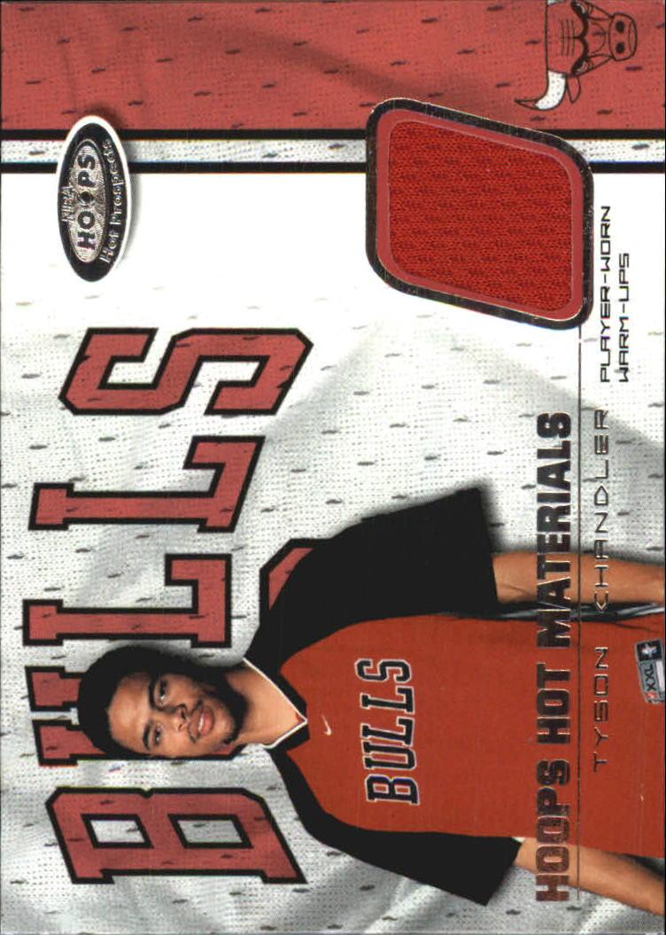 2001-02 Hoops Hot Prospects Hot Materials #30 Tyson Chandler