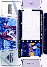 2001-02 Fleer Marquee Feature Presentation Film/Jerseys #4 Grant Hill