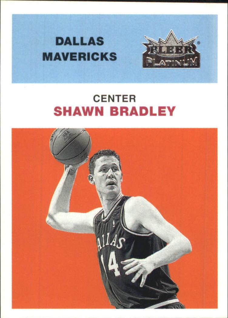 2001-02 Fleer Platinum Anniversary Edition #15 Shawn Bradley