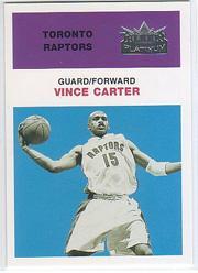 2001-02 Fleer Platinum Anniversary Edition #20 Vince Carter