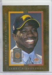 2001-02 Fleer Genuine #125 Jason Richardson RC