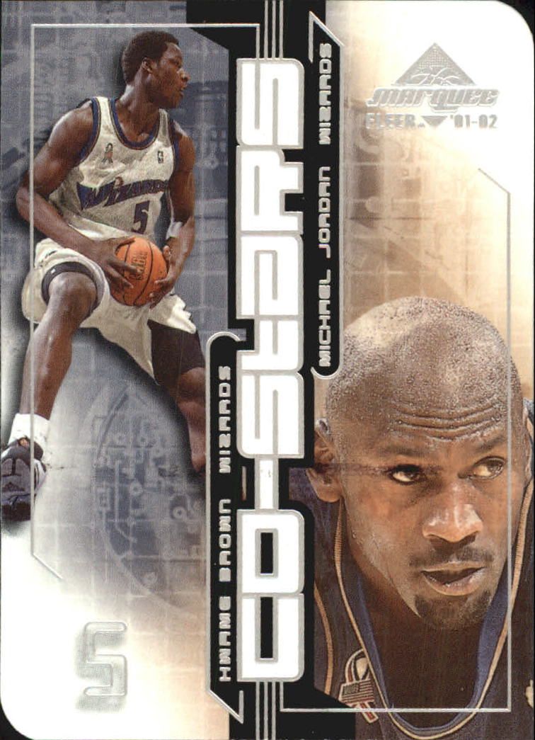 2001-02 Fleer Marquee Co-Stars #1 Michael Jordan/Kwame Brown