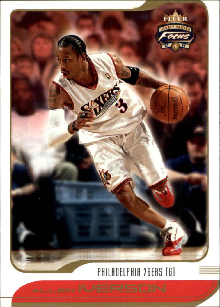2001-02 Fleer Focus #24 Allen Iverson