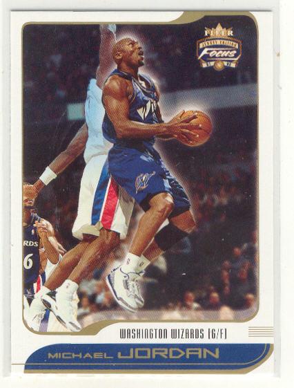 2001-02 Fleer Focus #95 Michael Jordan
