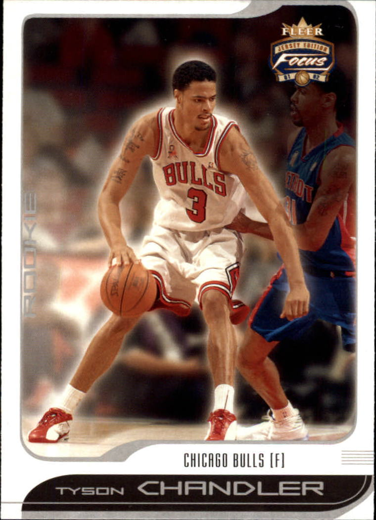 2001-02 Fleer Focus #105 Tyson Chandler RC