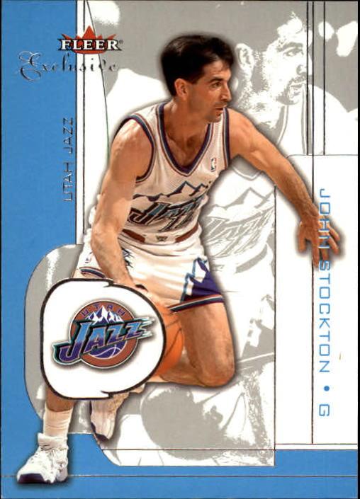 2001-02 Fleer Exclusive #21 John Stockton