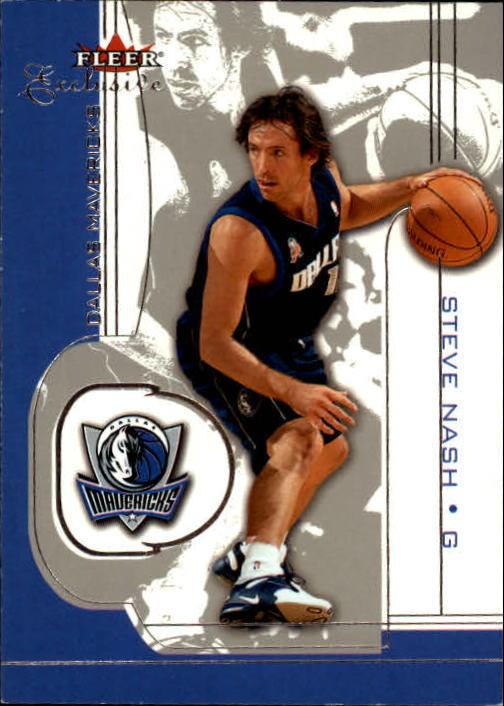 2001-02 Fleer Exclusive #24 Steve Nash