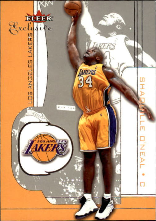 2001-02 Fleer Exclusive #29 Shaquille O'Neal