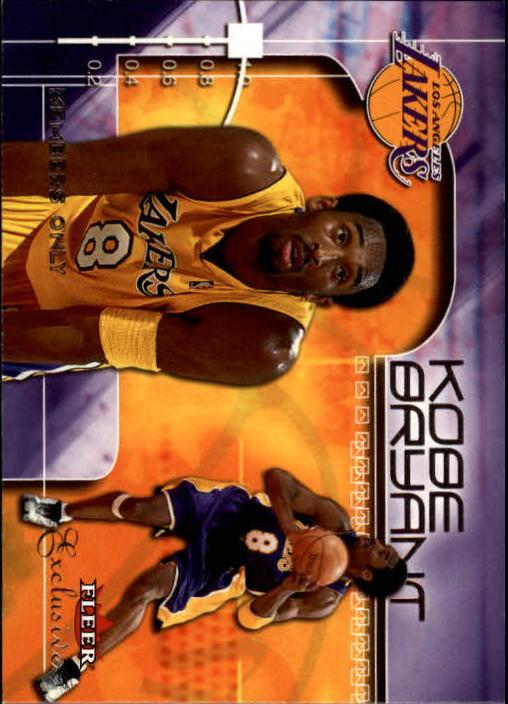 2001-02 Fleer Exclusive #115 Kobe Bryant MO