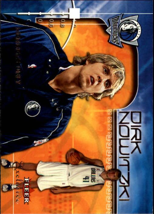 2001-02 Fleer Exclusive #116 Dirk Nowitzki MO