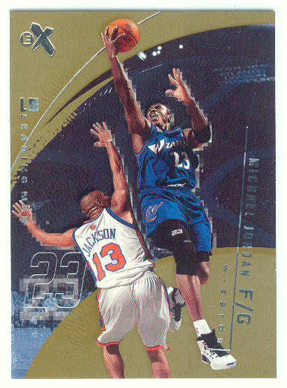 2001-02 E-X #98 Michael Jordan