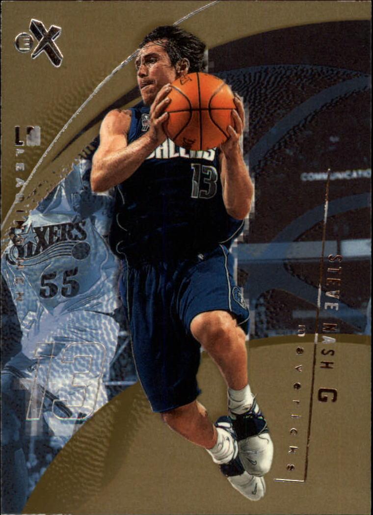2001-02 E-X #99 Steve Nash