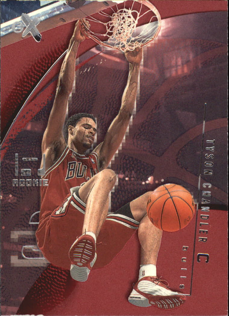 2001-02 E-X Essential Credentials Now #105 Tyson Chandler/45