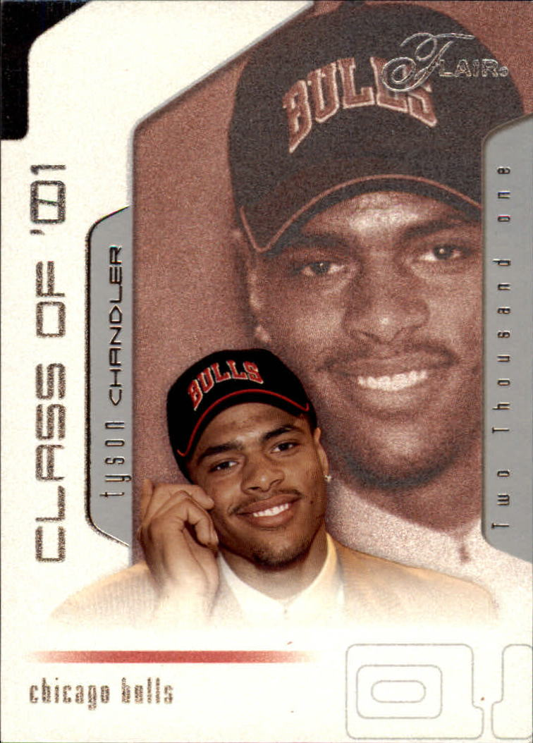 2001-02 Flair #93 Tyson Chandler RC
