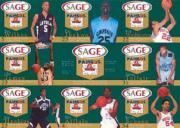 2002 SAGE Pangos Sheets #3 Sheet 3/Wesley Washington/Sebastian Telfair/Harrison Schaen/Ekene Ibekwe/Header Card/Aaron Afflalo/Omar Wilkes/LeBron James/Justin Hawkins