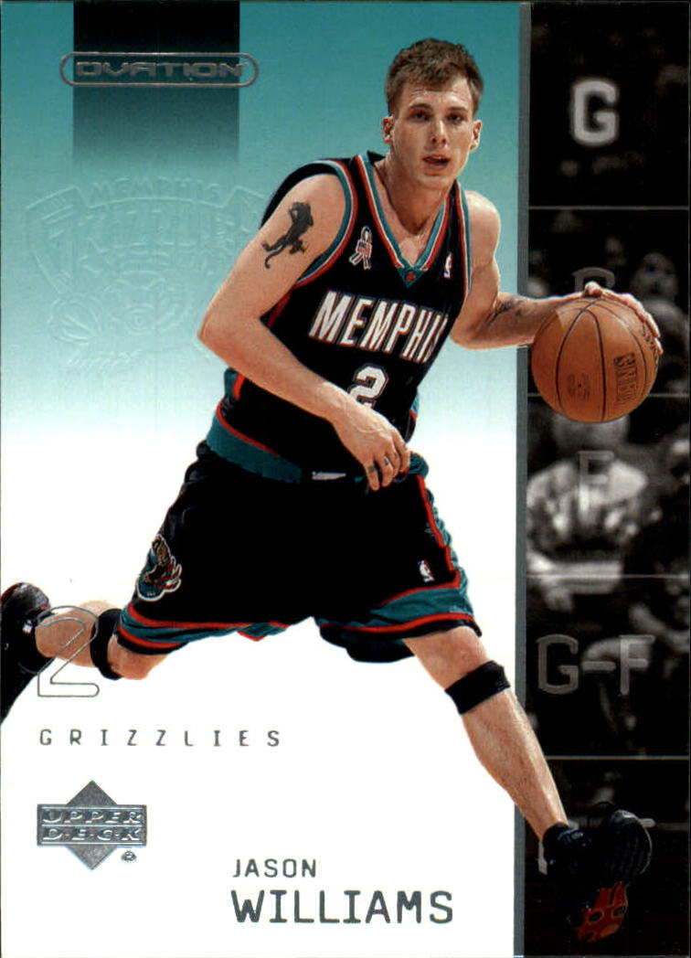 2002-03 Upper Deck Ovation #41 Jason Williams