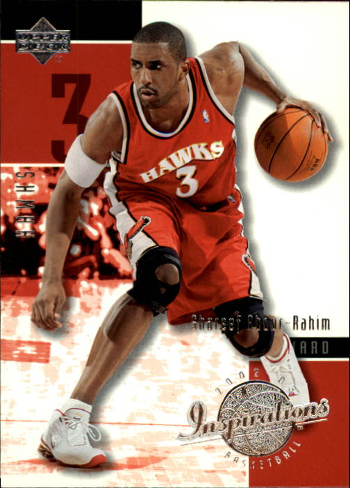 2002-03 Upper Deck Inspirations #1 Shareef Abdur-Rahim